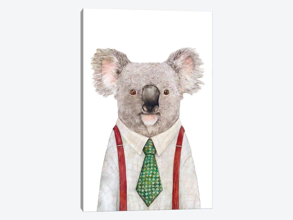 Koala by Animal Crew 1-piece Canvas Art Print