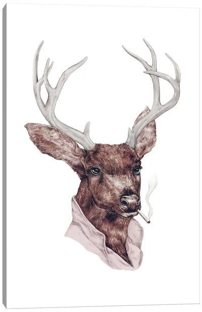 Bad Buck Canvas Art Print