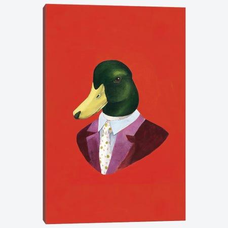 Mallard Duck Canvas Print #ACR32} by Animal Crew Canvas Wall Art