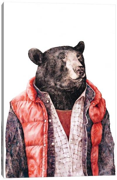 Black Bear Canvas Art Print