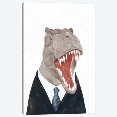 Tyrannosaurus Rex Canvas Print #ACR54} by Animal Crew Canvas Art Print