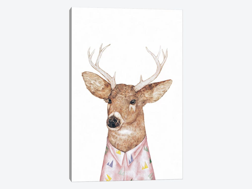 White-Tailed Deer by Animal Crew 1-piece Canvas Art