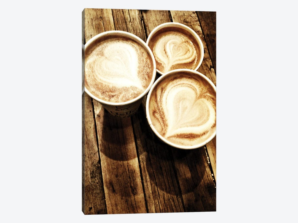Love In A Latte by Acosta 1-piece Art Print