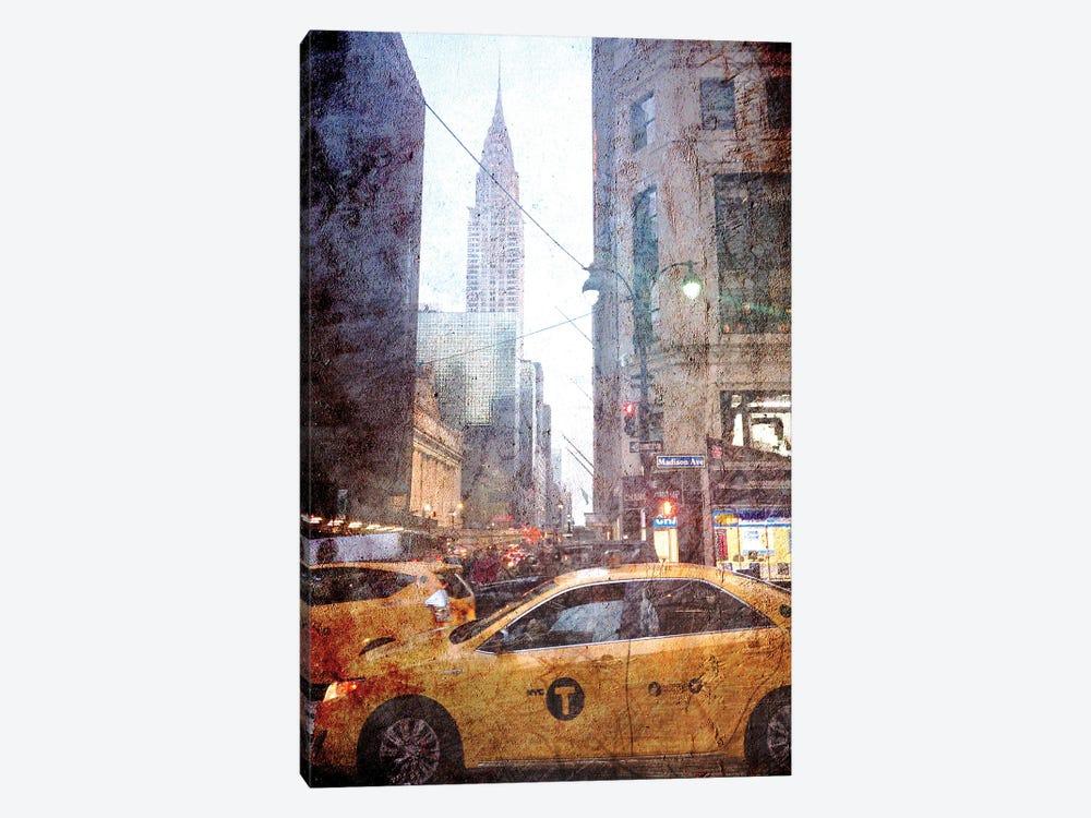 Rainy Madison Avenue by Acosta 1-piece Canvas Print