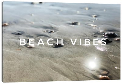 Beach Vibes Canvas Art Print