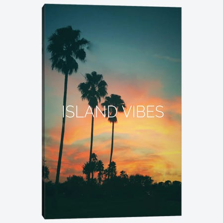 Island Vibes Canvas Print #ACT27} by Acosta Canvas Art