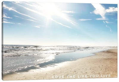 Love The Life You Live Canvas Art Print