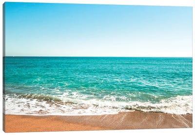 Reminiscing At The Beach Canvas Art Print