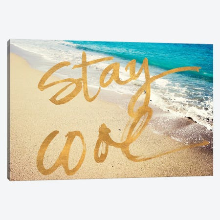 Stay Cool Ocean Canvas Print #ACT9} by Acosta Canvas Wall Art