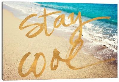 Stay Cool Ocean Canvas Art Print