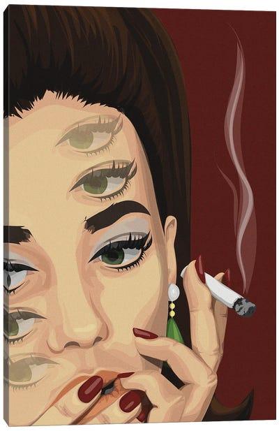 Eye Am Thinking Canvas Art Print