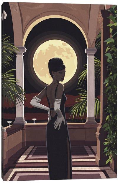 Mystery Woman Canvas Art Print