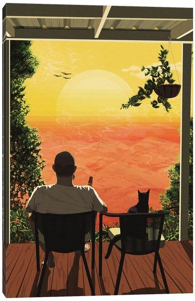 Sundowner Canvas Art Print