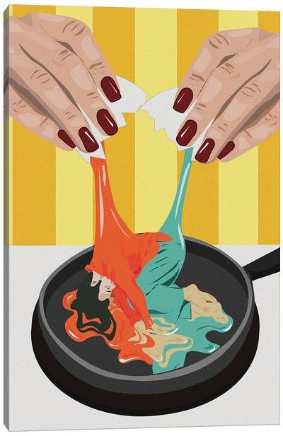 A Bad Egg Canvas Art Print