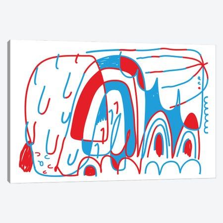 N° A B C Canvas Print #ACV107} by Alessandro La Civita Art Print
