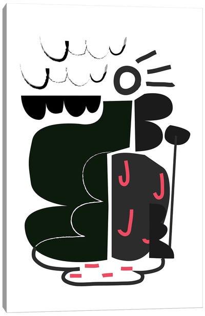 A B C N°2 Canvas Art Print