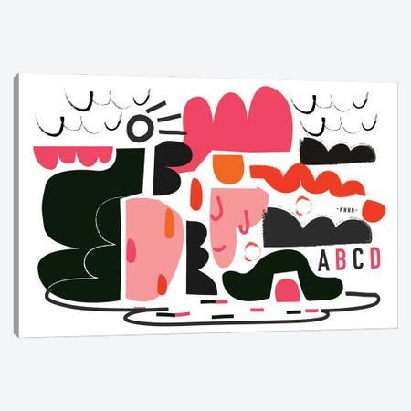 A B C N°3 Canvas Print #ACV114} by Alessandro La Civita Canvas Artwork