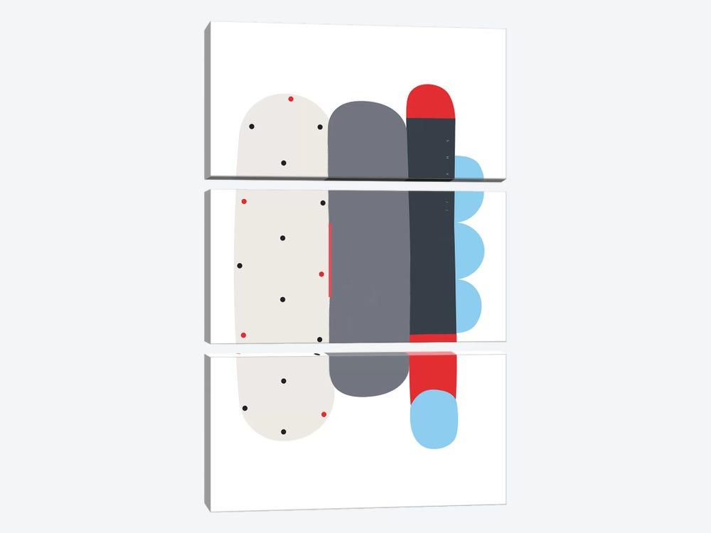 Dex by Alessandro La Civita 3-piece Canvas Art Print