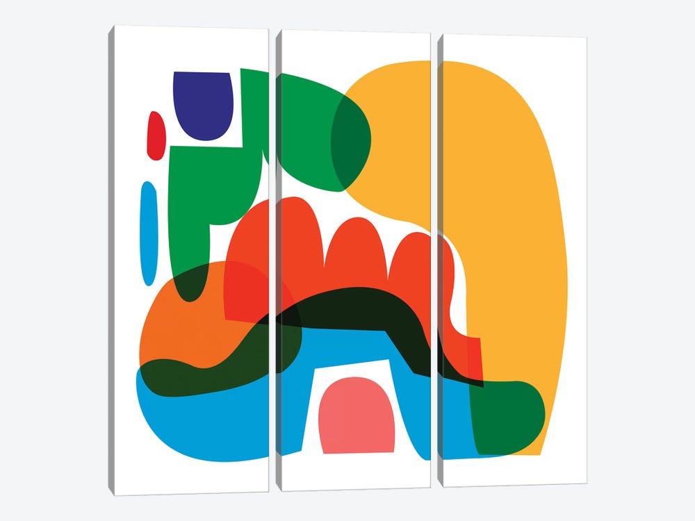 Kiro by Alessandro La Civita 3-piece Canvas Wall Art