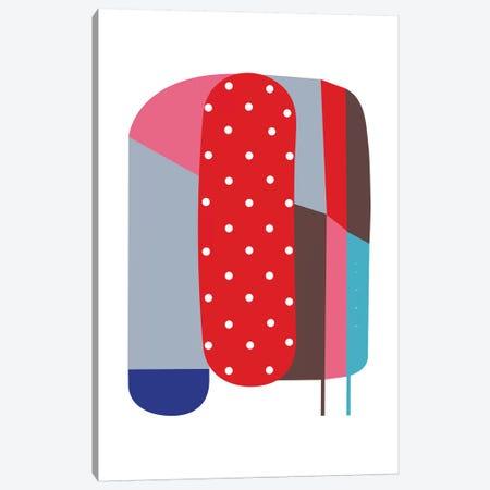 Red Shiho Canvas Print #ACV51} by Alessandro La Civita Canvas Artwork