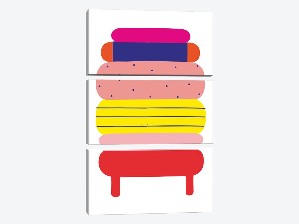 Yello by Alessandro La Civita 3-piece Art Print