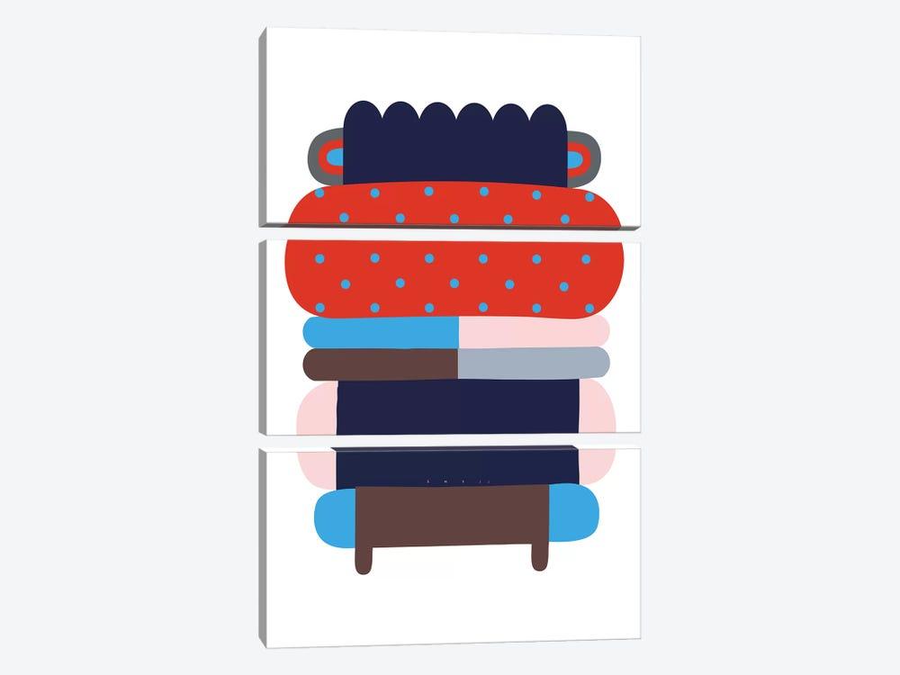 Yuki by Alessandro La Civita 3-piece Canvas Print