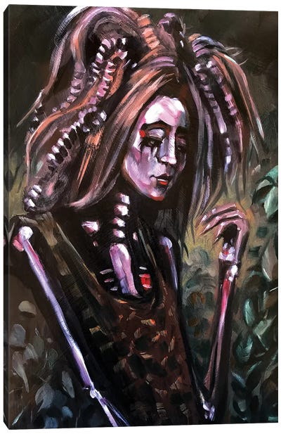 Natures Grief Canvas Art Print