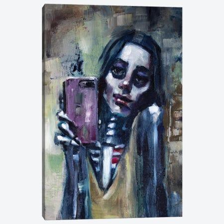 Selfie Canvas Print #ACZ21} by Alex Chavez Canvas Print