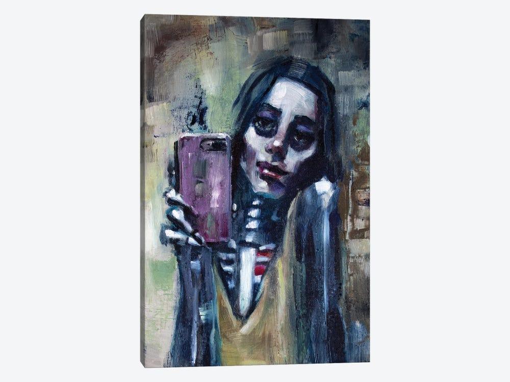 Selfie by Alex Chavez 1-piece Canvas Artwork
