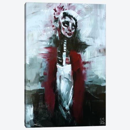 Those Eyes Canvas Print #ACZ26} by Alex Chavez Canvas Wall Art