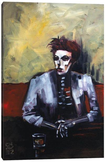White Duke Canvas Art Print