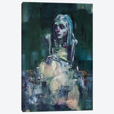 Emeralda Canvas Print #ACZ30} by Alex Chavez Canvas Art