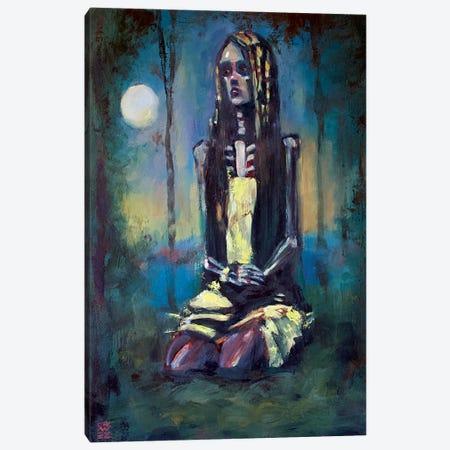 Night Wise Canvas Print #ACZ39} by Alex Chavez Canvas Artwork