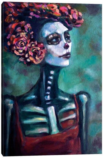 Azulita Canvas Art Print