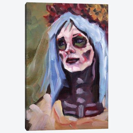 Cyan Canvas Print #ACZ8} by Alex Chavez Canvas Artwork