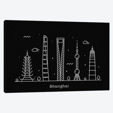Shanghai Canvas Print #ADA105} by Ayse Deniz Akerman Canvas Print