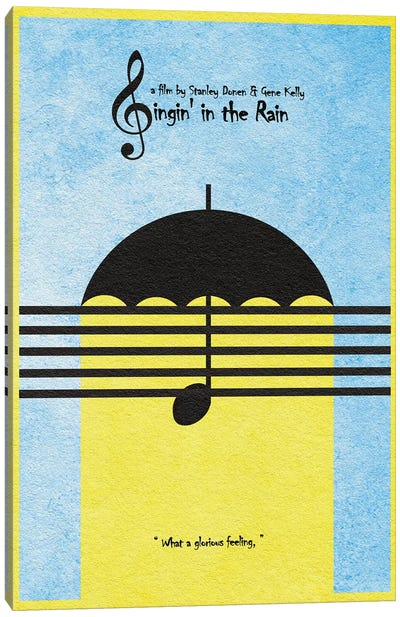Singing In The Rain Canvas Art Print
