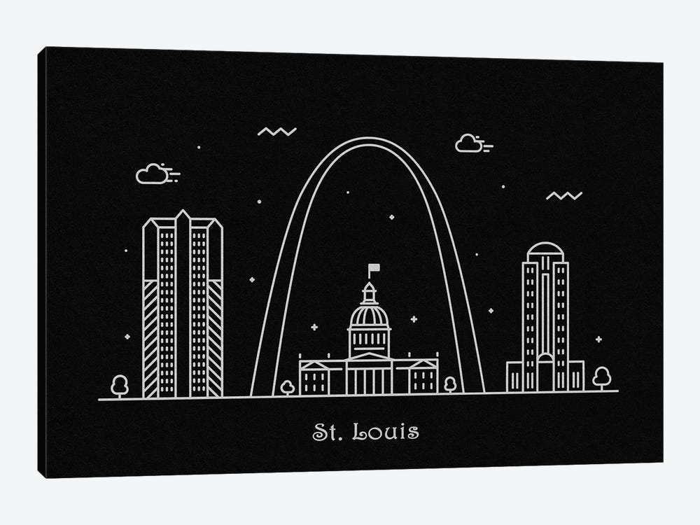 St. Louis by Ayse Deniz Akerman 1-piece Canvas Art Print