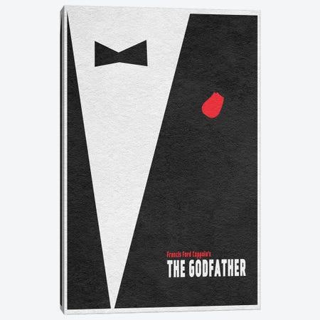The  Godfather Canvas Print #ADA112} by Ayse Deniz Akerman Art Print