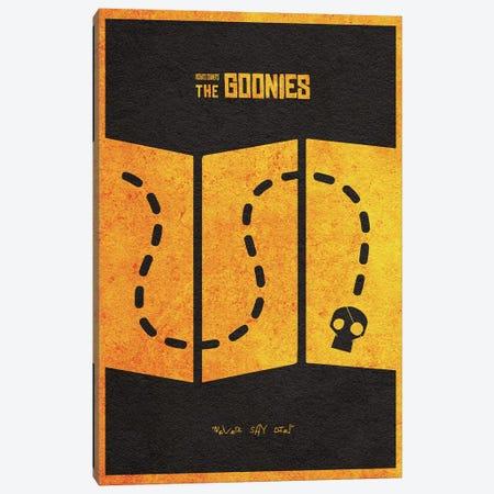 The Goonies Canvas Print #ADA113} by Ayse Deniz Akerman Canvas Art Print