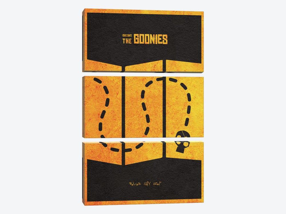 The Goonies by Ayse Deniz Akerman 3-piece Canvas Art