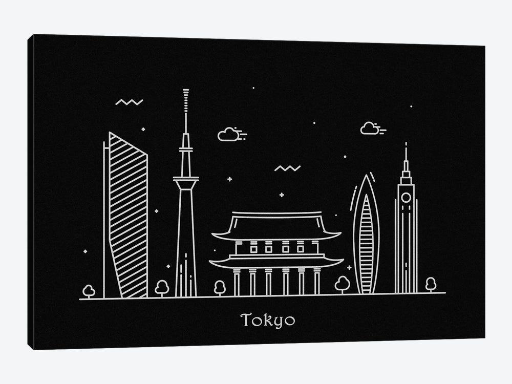 Tokyo by Ayse Deniz Akerman 1-piece Canvas Print