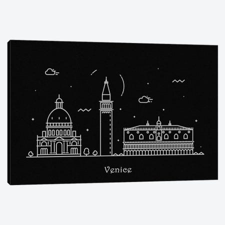 Venice Canvas Print #ADA118} by Ayse Deniz Akerman Canvas Print