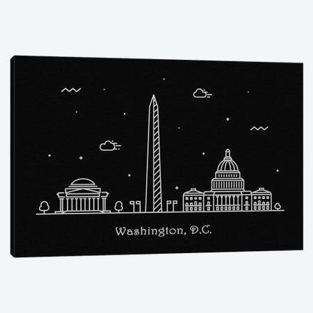 Washington, D.C. Canvas Print #ADA119} by Ayse Deniz Akerman Art Print