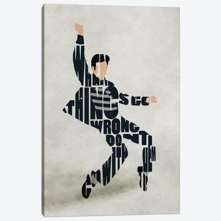 Elvis Canvas Print #ADA121} by Ayse Deniz Akerman Canvas Wall Art