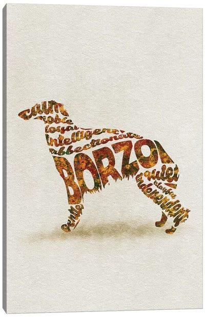 Borzo Canvas Art Print