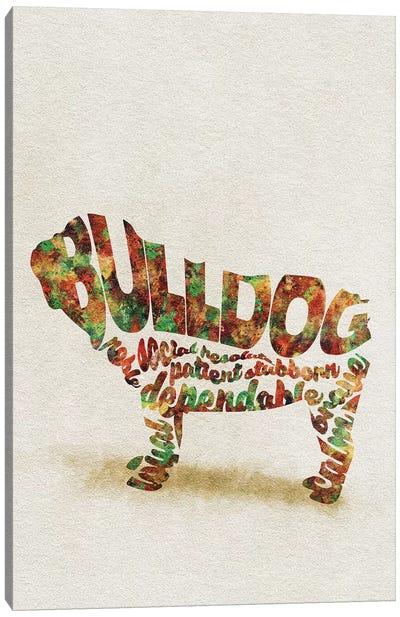 British Bulldog Canvas Art Print