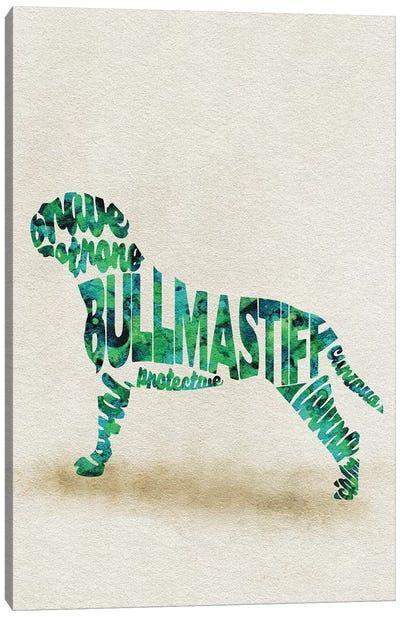 Bullmastiff Canvas Art Print