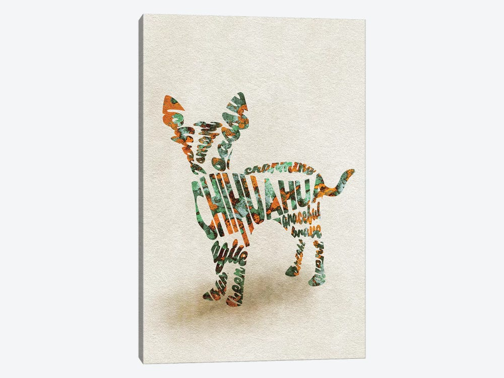 Chihuahua by Ayse Deniz Akerman 1-piece Canvas Art