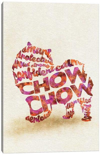 Chow Chow Canvas Art Print